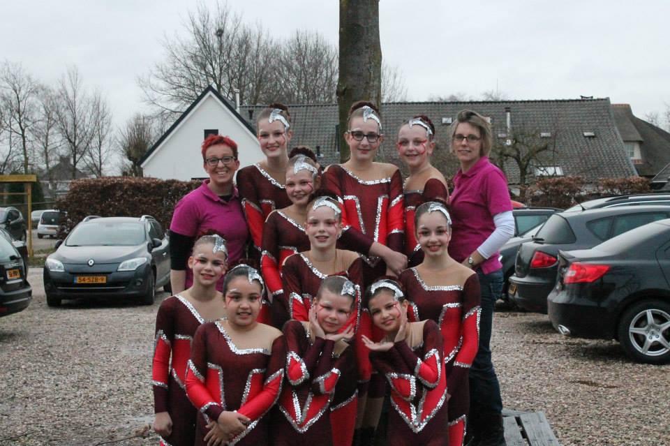 Dansgarde concours Oud-Zevenaar